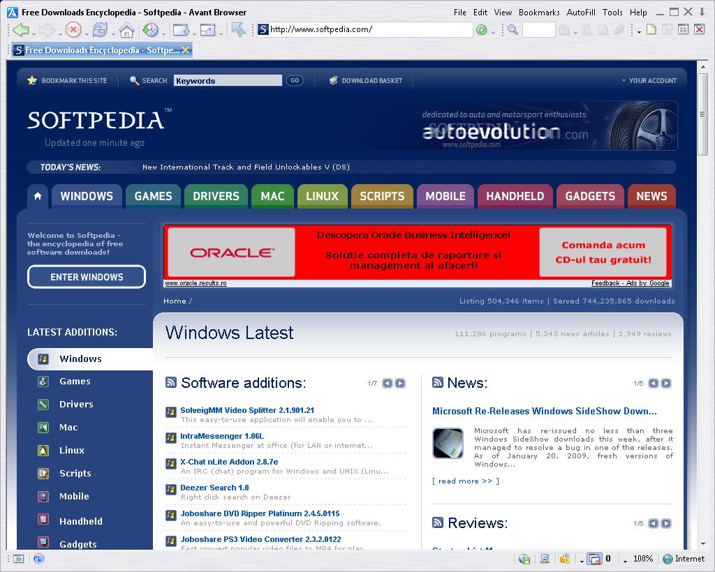 WatFile.com Download Free Avant Browser download, Avant Browser indir, Avant Browser programı