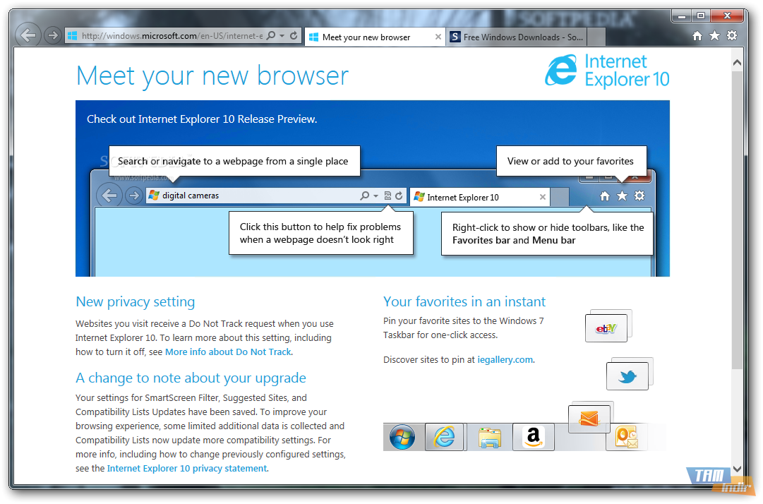 Internet Explorer son sürüm indir Internet Explorer download resim1
