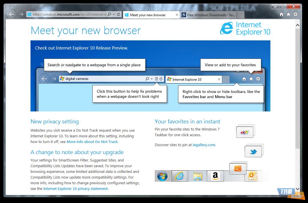 Internet Explorer son sürüm indir  Internet Explorer  download resim1