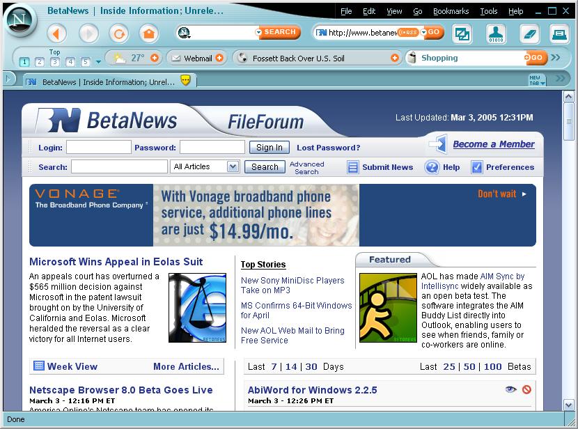 Netscape Browser indir Netscape Browser downlaod Netscape Browser türkçe Netscape Browser 2