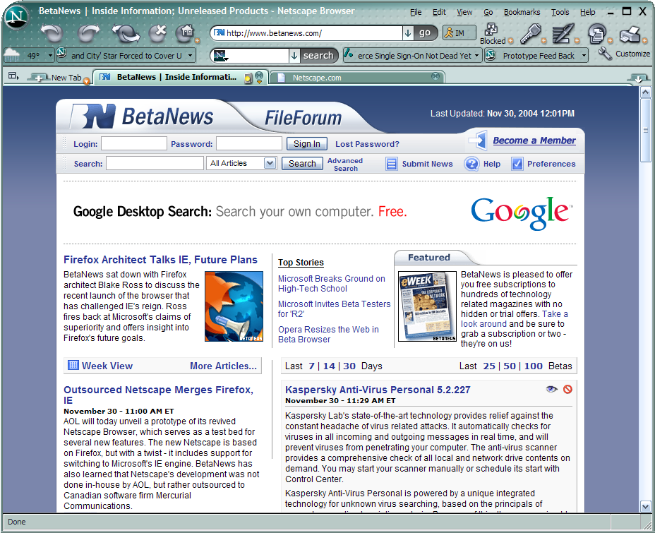 Netscape Browser indir Netscape Browser downlaod Netscape Browser türkçe Netscape Browser 5