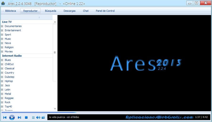 Ares 2.2.4 son sürüm Ares 2.2.4 indir Ares 2.2.4 programı türkçe Ares 2.2.4 download2