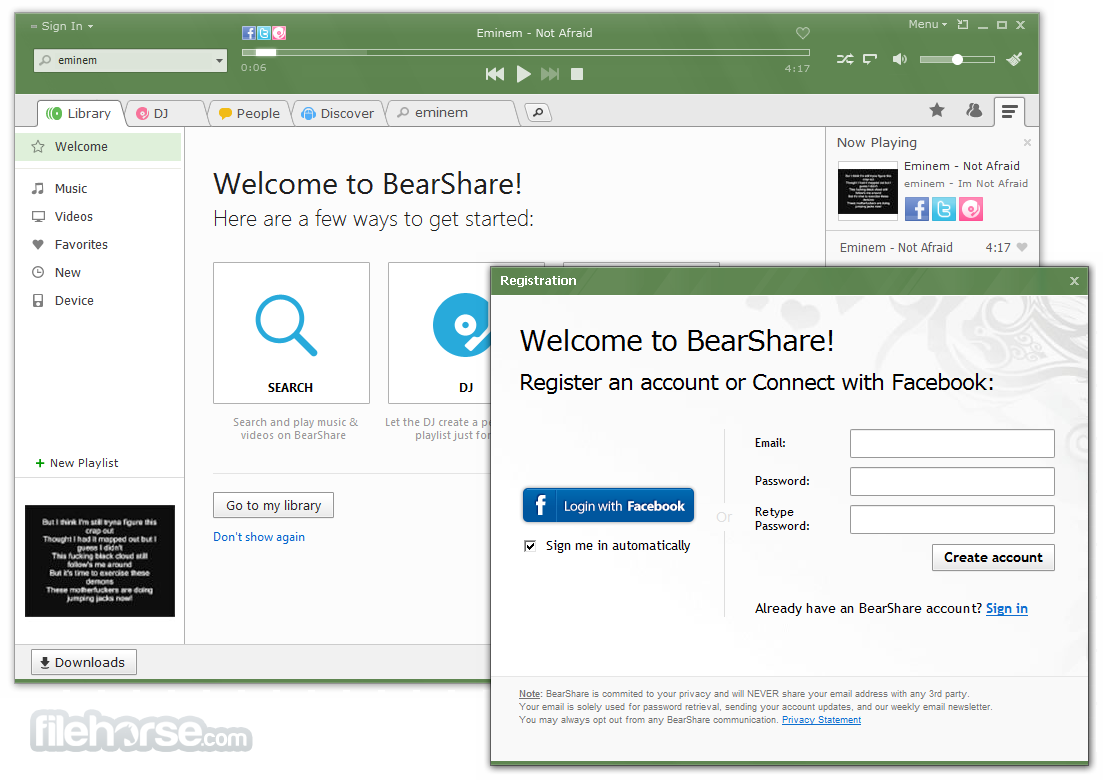 BearShare Lite download BearShare Lite indir BearShare Lite son sürüm4