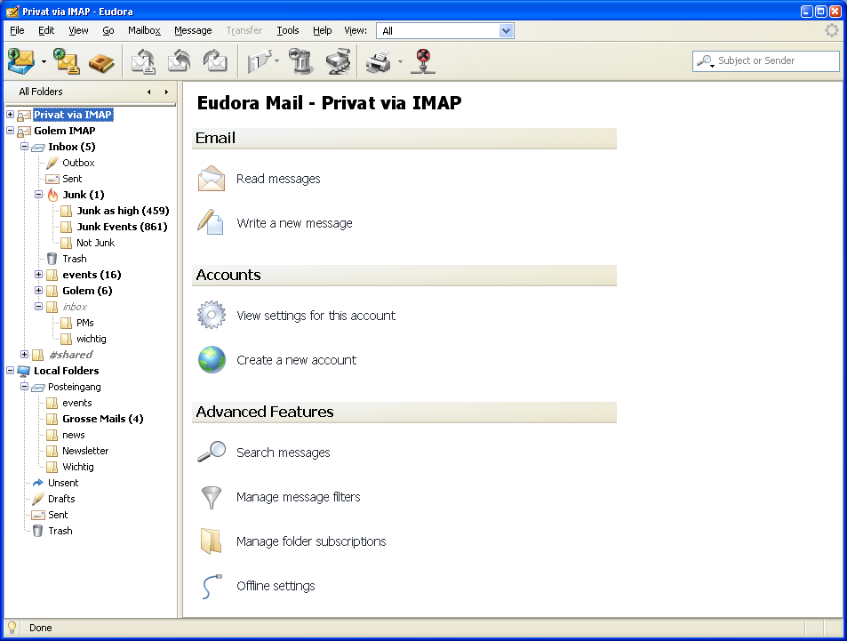 Eudora E-posta programı indir Eudora E-posta son sürüm Eudora E-posta download Eudora E-posta türkçe Eudora E-posta kullanımı