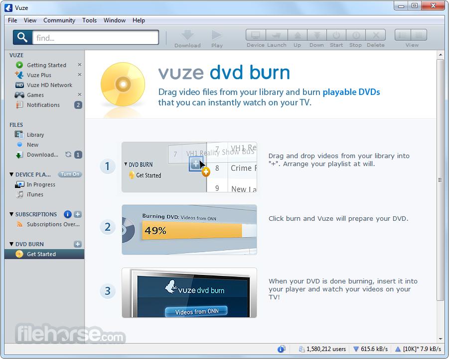 Vuze son sürüm indir Vuze indir Vuze download Vuze özellikleri4