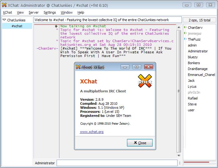 XChat 2.8.9 son sürüm XChat indir XChat sohbet indir XChat programı indir download