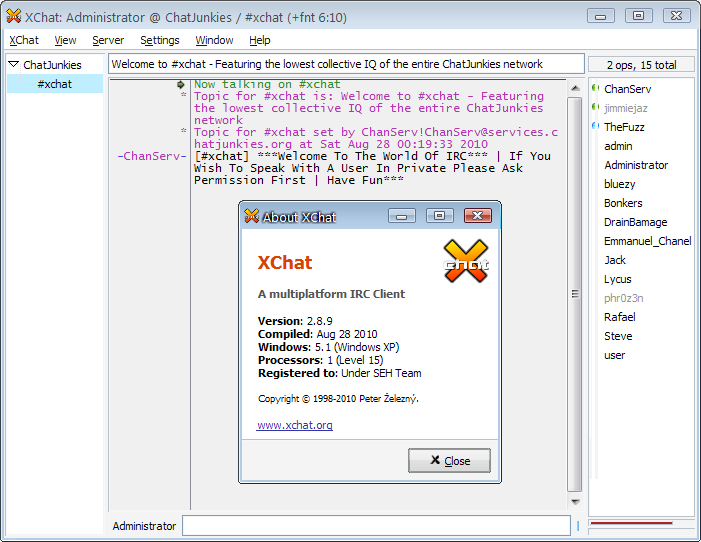 torrent Xchat Crack Windows - twitterloadcrack