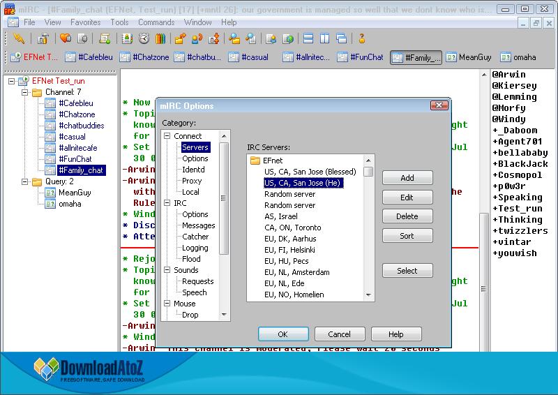 mIRC 7.32 download mIRC 7.32 indir mIRC 7.32 son sürüm mIRC 7.32 sohbet etme programı 3