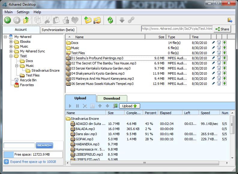 4shared Desktop  download