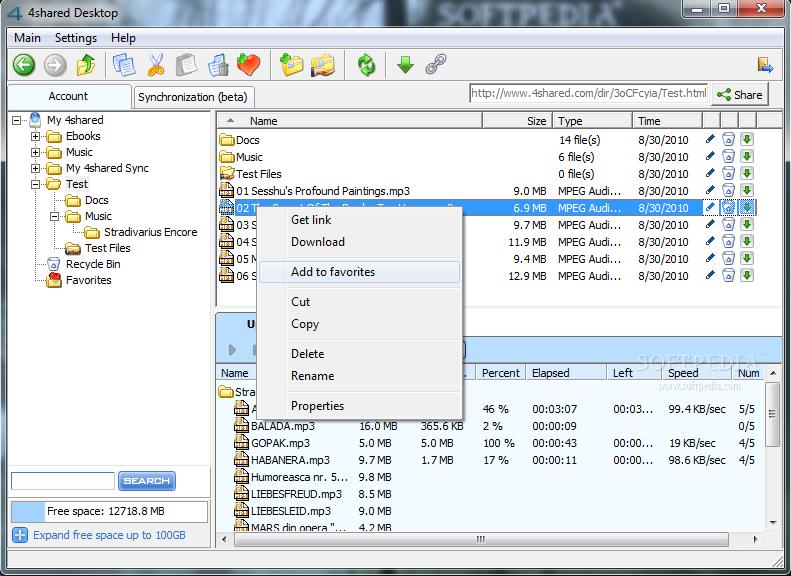 4shared Desktop  ne işe yarar