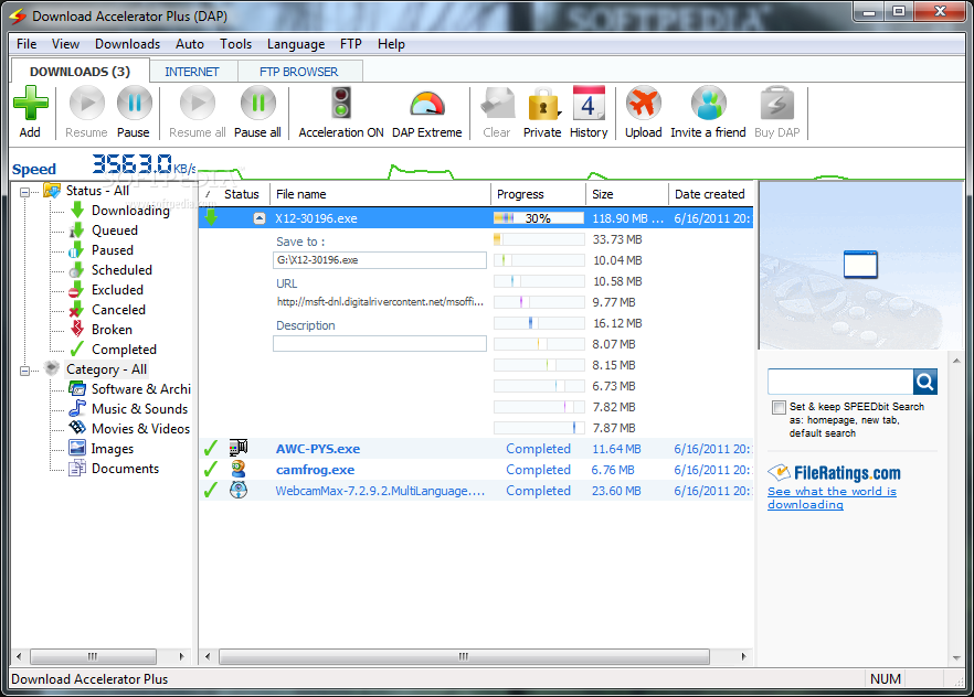 Accelerator Plus 10.0.5.3 download