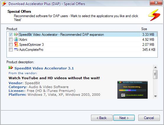 Accelerator Plus 10.0.5.3 free download