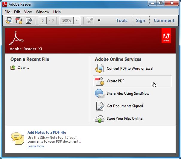 Adobe Reader indir yükle