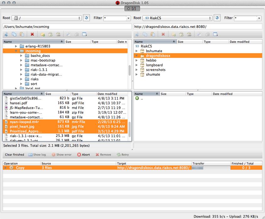 DragonDisk 1.05 Son Sürüm indir