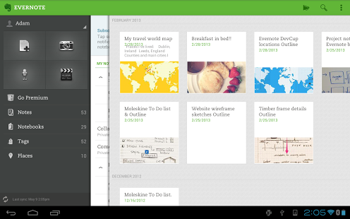 Evernote 5.0.1 free download