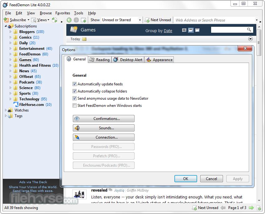 Feed Demon RSS windows download free