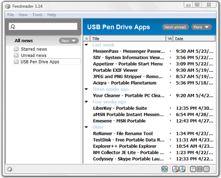 FeedReader 3.14 download