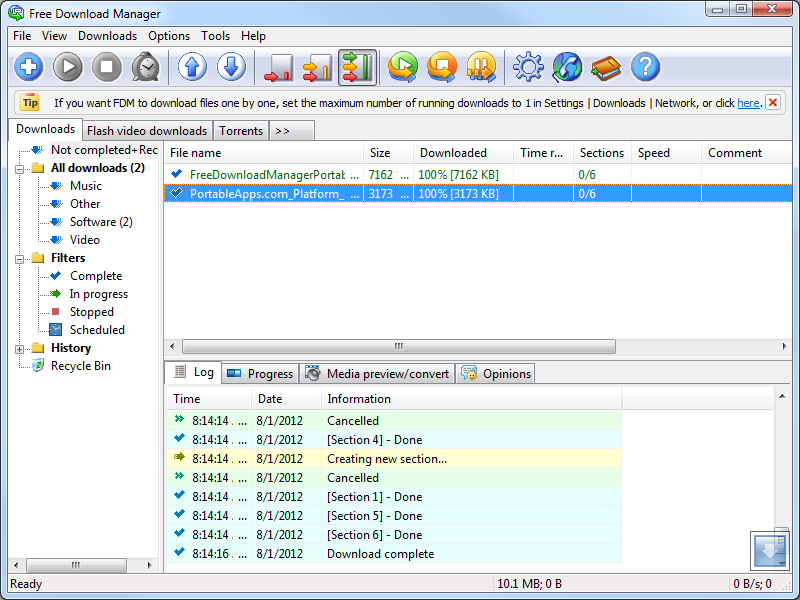Free Download Manager Portable download