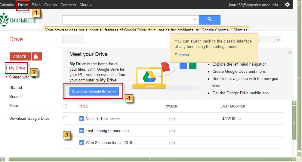 Google Drive son sürüm indir