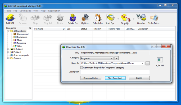 Internet Download Manager IDM 6.17 indir download