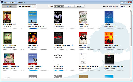 Kindle for PC free download