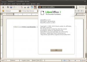 LibreOffice foto