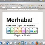 LibreOffice Türkçe free download