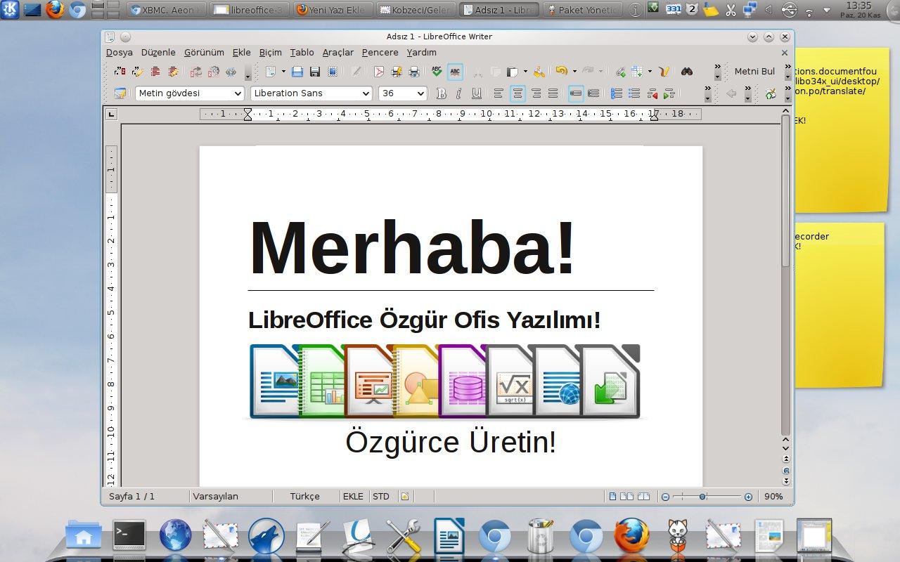 LibreOffice indir son sürüm indir