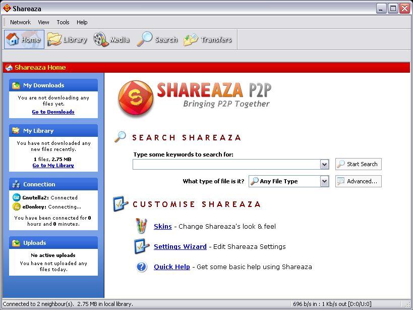 Shareaza indir Shareaza nedir Shareaza download Shareaza müzik indirme programı 3