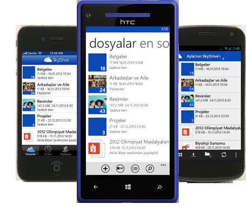 SkyDrive son sürüm indir SkyDrive pro
