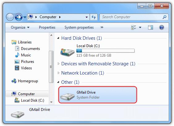 gmail drive bedava ücretsiz indir download