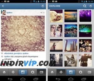Instagram konuşma