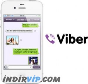 Viber sohbet uygulaması